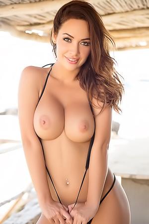 Gorgeous Playmate Adrienn Levai porn pic gallery