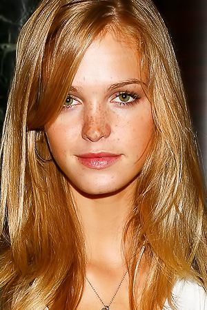 Face Models With Lovely Freckles
