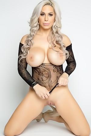 Alyssa Lynn In Sheer Beauty