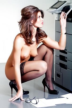 Dutch Playmate Lotte Modeling