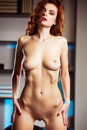 Veronika Glam Seductress Poses Provocatively