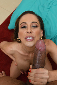Cherie Deville Received Cum Into Her Mouth