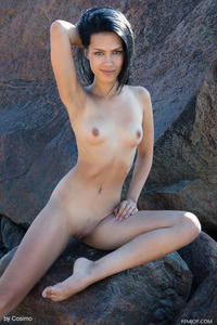 Lada A Looking Comfortable When Fully Nude