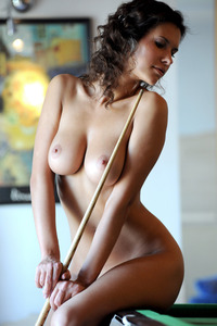 Boobed Babe Suzanna A Plays In Pool