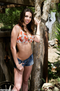 Country Girl Tiffany Tyler Slowly Strips
