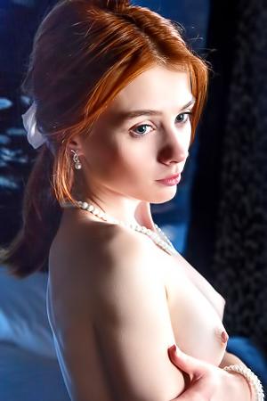 Redhead nude skinny Nude Redhead