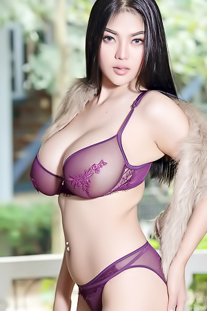 Pitta Purple Lingerie The Black Alley