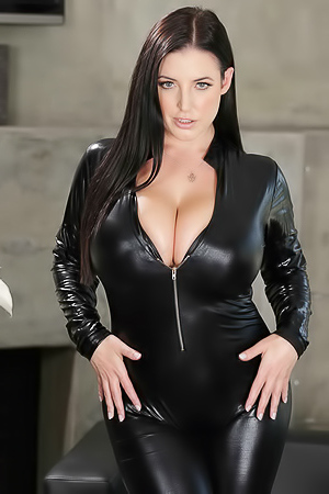 Angela White via Brazzers