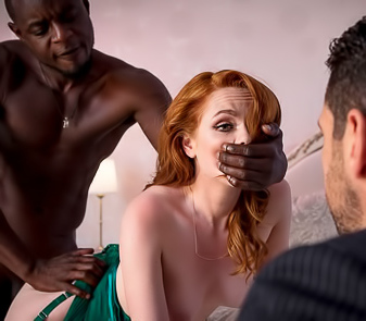 Ella Hughes Gets Her Pussy Stretched By A Big Black Cock