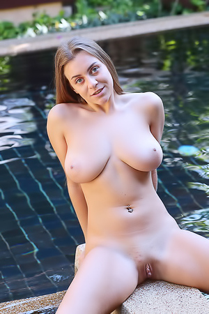 Josephine Shows Her Beautiful Breasts