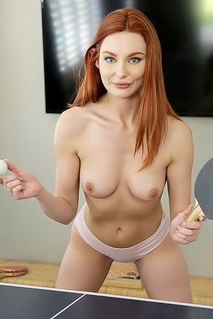 Lacy Lennon Stripping And Ready For Fuck