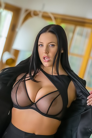 Busty Naked Angela White Playboy Plus Debut