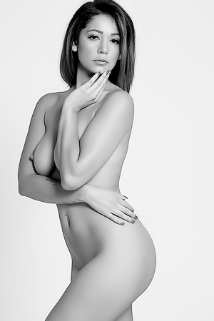 Naked Art With Stunning Ali Rose