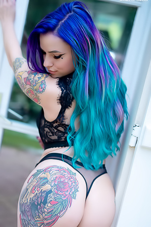 Saturn via Suicide Girls